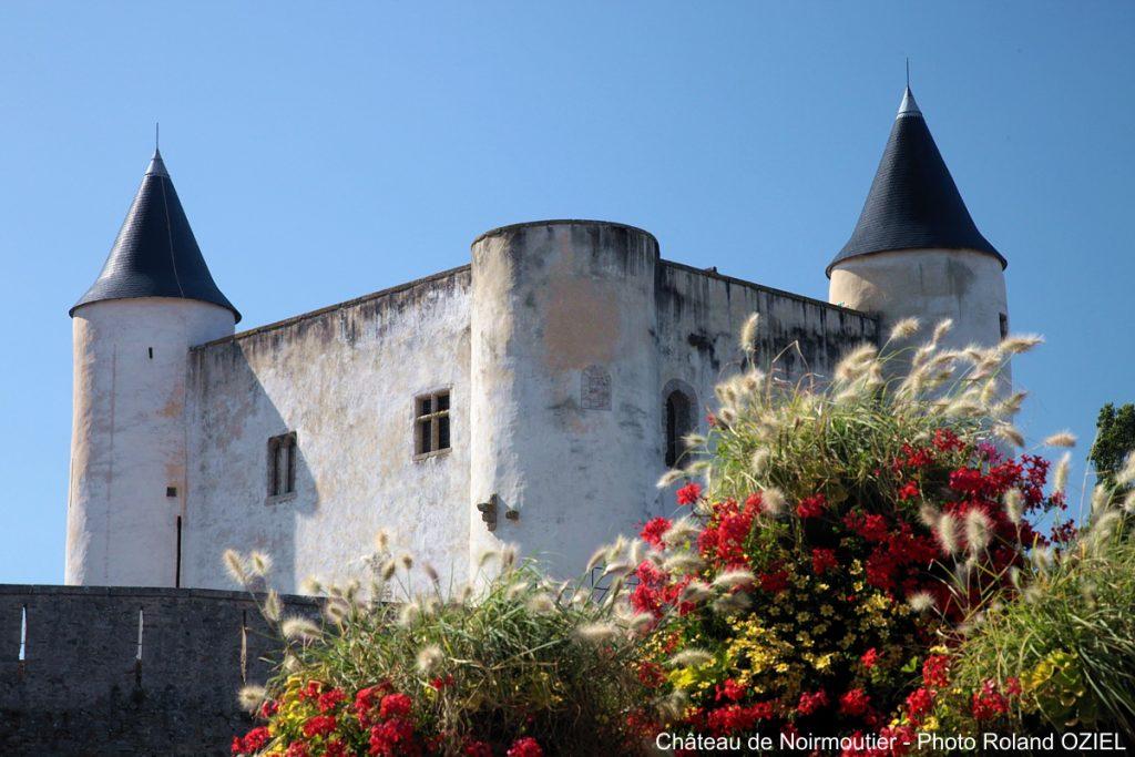 Photo du château de Noirmoutier en Vendée proche Côté plage Saint Jean de Monts