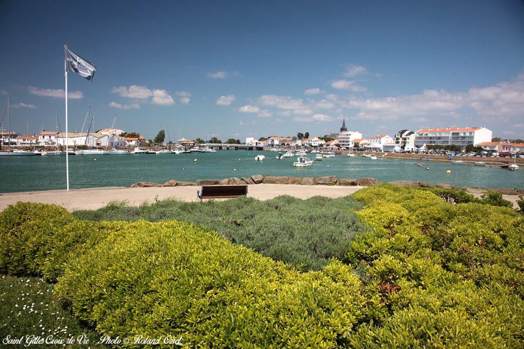 Photo port St Gilles Croix de Vie alentours camping Côté Plage