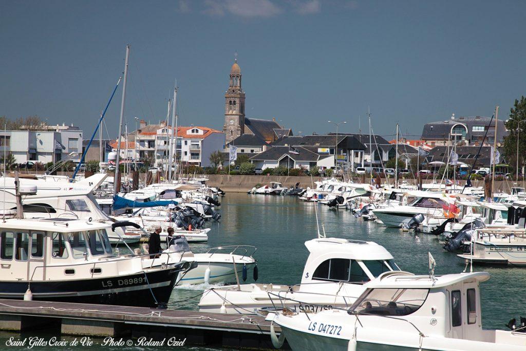 Photo port de Saint Gilles Croix de Vie en Vendée