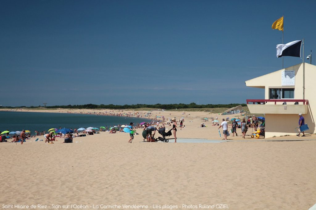Photo vacances et plage à Saint Hilaire de Riez