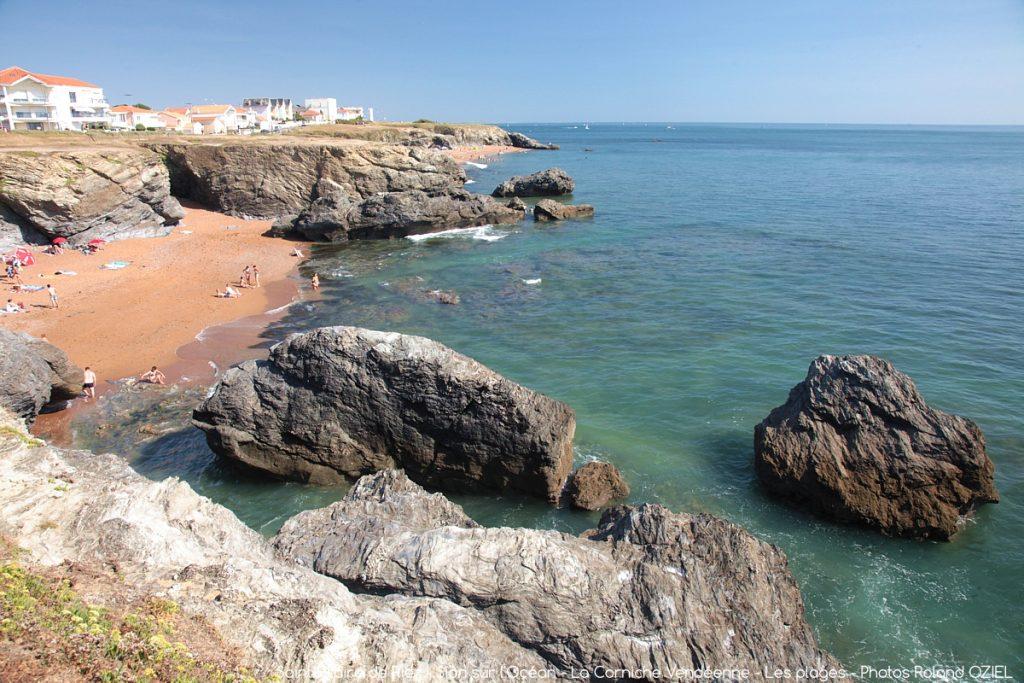 Photo plage corniche sion alentours camping Côté Plage