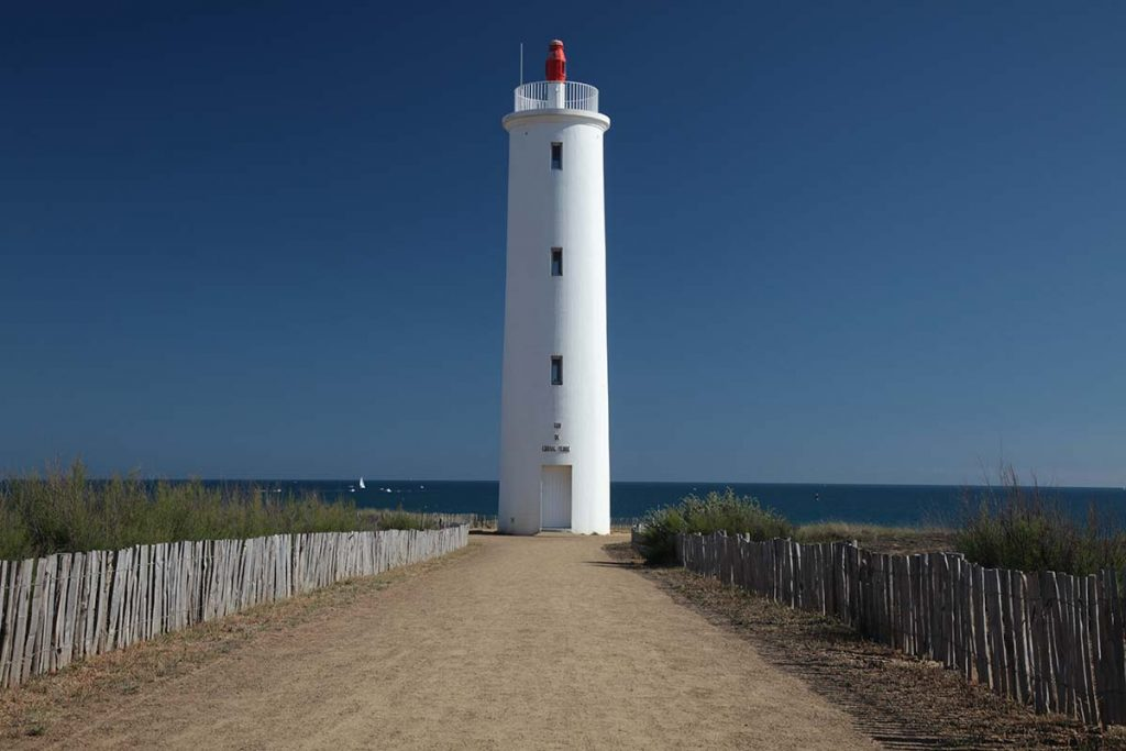 Photo du phare de Saint Hilaire de Riez en Vendée